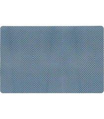 jogo americano copa e cia superfixo pvc jeans azul 29x44cm 1 peça