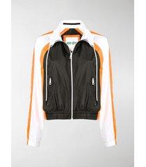 kenzo colour block track jacket