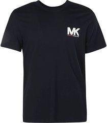 michael kors chest logo print t-shirt