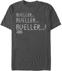 paramount men's ferris bueller's day off bueller repeat short sleeve t-shirt