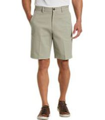 joseph abboud faded sage modern fit shorts