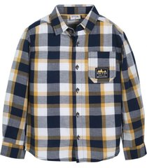 camisa marco mostaza black and blue