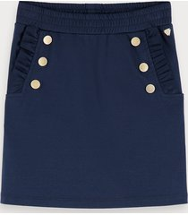scotch & soda nautical jersey skirt