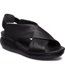 balloon shoes summer shoes flat sandals svart camper