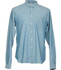 mhl by margaret howell denim shirts