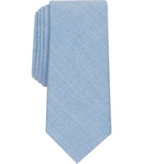 bar iii men's clarkson skinny solid tie, created for macy's