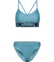 beach bikini w bikini blå adidas performance
