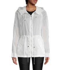 mackage women's theora hooded jacket - size s