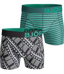 bjorn borg boxershorts 2-pak maasai groen