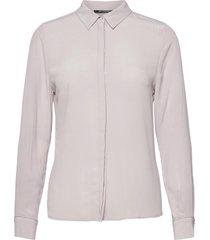 lillie corinne shirt blouse lange mouwen paars bruuns bazaar