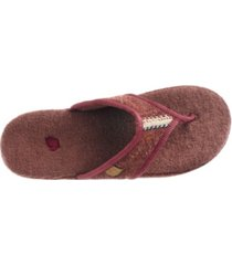 acorn women's lightweight bristol thong slipper women's shoes