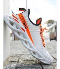 zapatillas de deporte para correr cómodas y transpirables de moda para hombre al aire libre
