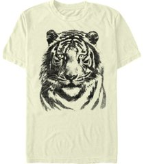 fifth sun oversized tiger men's short sleeve t-shirt