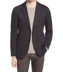 men's alton lane the performance sport coat, size 46 regular - black
