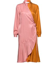 kind dress knälång klänning rosa storm & marie