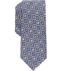 bar iii men's kottas slim floral mosaic tie, created for macy's