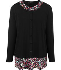 shirt m. collection zwart