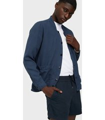 morris corsoir shirt jacket jackor blue