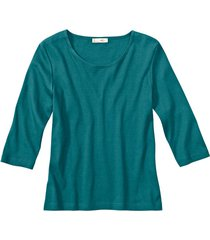 biokatoenen shirt met ronde hals, atlantisch 36/38