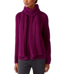 eileen fisher wool scarf