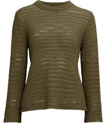 topp pcclippa 3/4 o-neck knit