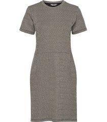 glitter jacquard diella jurk knielengte multi/patroon mads nørgaard