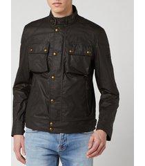 belstaff men's racemaster jacket - faded olive - it 54/xxl