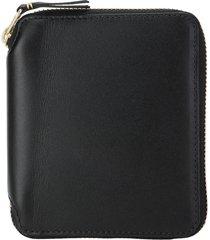 comme des garçons wallet comme des garcons wallet classic vertical zip-around leather wallet
