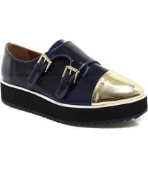 oxford zariff shoes flatform monk strap feminino - feminino
