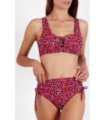 bikini admas 2-delig bikinisetje hot skin rood