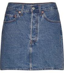 ribcage skirt now and then ski kort kjol blå levi´s women