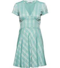 cindy short dress 10866 kort klänning grön samsøe samsøe