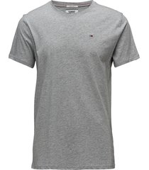 tjm original jersey tee t-shirts short-sleeved grå tommy jeans
