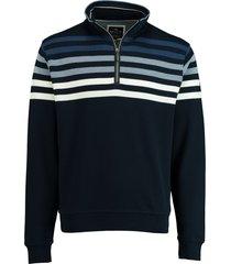 baileys sweater met ritsje donkerblauw 103197/37