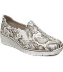 53766-40 loafers låga skor silver rieker