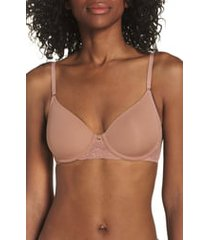 women's natori bliss perfection underwire contour bra, size 38g - beige