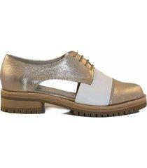 zapato platino briganti mujer quilla