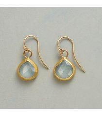 nava zahavi celestial aqua earrings