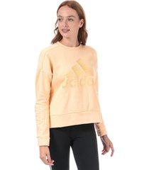 womens id glam crew sweatshirt