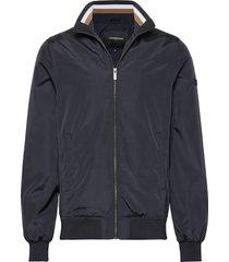 soft nylon jacket dun jack blauw lindbergh