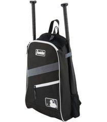 franklin sports black batpack equipment & bat backpack