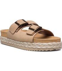 greta shoes summer shoes flat sandals beige mango