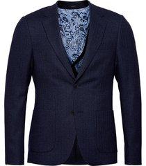 charles blazer kavaj blå bruun & stengade
