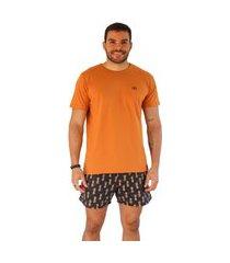 camiseta baroni básica laranja