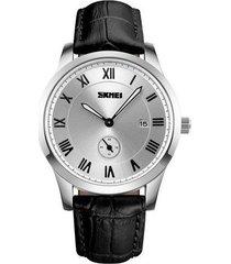 relojes de marca de lujo reloj de cuarzo casual para hombre reloj con correa de cuero