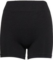 decoy seamless hot pants lingerie panties high waisted panties svart decoy