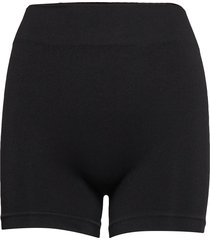 decoy seamless hot pants lingerie panties high waisted panties svart decoy