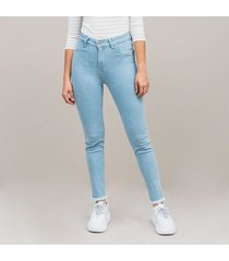 jean skinny talle alto lychees