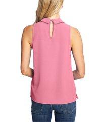 cece sleeveless collared top