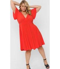 vestido rojo circe seda